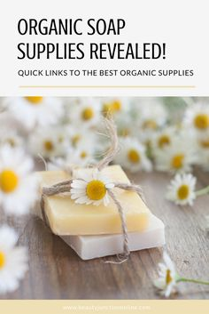 Discover the best organic soap supplies!