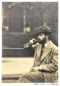 William Faulkner in Paris, November 1925, by William C. Odiorne