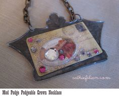 Cathie Filian: Make a Statement Necklace with Mod Podge Podgeables