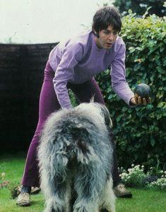 Paul McCartney and Martha