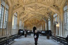 Hogwarts sickbay at The Divinity School  - Oxford, England