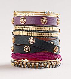 love layering these bracelets!