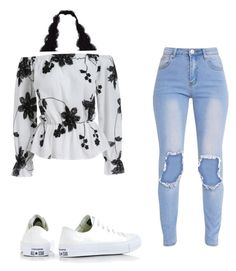 """Untitled #1"" by jasandralopez on Polyvore featuring Converse"