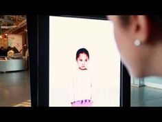 An interactive video screen using Kinect motion-sensors to raise awareness for Autism Speaks.