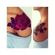 22 Beautiful Black and Grey Rose Tattoos