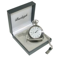 Engraved Burleigh Silver Plated Pocket Watch from Personalised Gifts Shop - ONLY Engraved Wedding Gifts, Wedding Gifts For Bride And Groom, Engraved Gifts, Bride Gifts, Personalized Gifts, Groom Gifts, Fathers Day Gifts, Valentine Day Gifts, Man Gifts