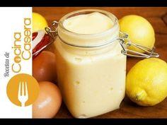 Lemon curd o crema de limón - Recetas de Cocina Casera - Recetas fáciles y sencillas