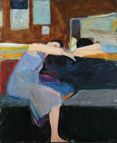 Richard Diebenkorn  Sleeping Woman