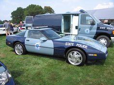 ◆Massachusetts State Police Corvette◆