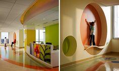 TK Architects - University of Minnesota Amplatz Childrens Hospital; great color