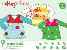 Children's tunic Pattern and sewing by Erbsenprinzessin on Etsy