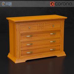 Dall Agnese chest of drawers  #models #3dmodeling #modeling #turbosquid #3dartist #viktor_log #design #interior