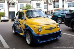 How nice is this Abarth 500?