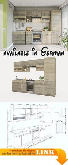 B008MUQJV4  Küche Sky 150cm Küchenzeile   Küchenblock variabel - küchenblock 270 cm