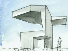 art and sketches Urban Architecture, Classic Architecture, Beautiful Architecture, Steven Holl, Alvar Aalto, Model Sketch, Hand Sketch, Conceptual Design, Sketch Inspiration