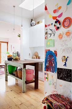 Une maison colorée de créatifs en Australie