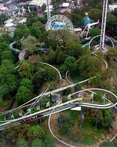 Lisebergbanan at Liseberg, Gothenburg, Sweden, was designed by Anton Schwarzkopf and was his personal favourite coaster - it utilises a very clever use of the terrain
