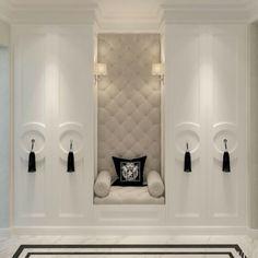 Master Closet Seating Cabinets 35 Ideas For 2019 Classic Interior, Home Interior Design, Interior Decorating, Luxury Interior, Luxury Furniture, Furniture Design, Master Closet, Closet Bedroom, Wardrobe Closet