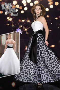 Organza; A-line; Ball Gown; Strapless; Sweetheart Neckline; Geometric Print; Beads; Rhinestones; 2 Detachable Belts; Pleats; Lace-up Back