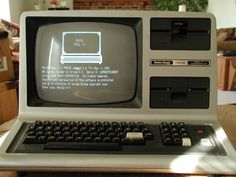 trs-80 - This is the first computer i ever had the privilege of lovingly learning on. Thanks to Ms. Hudson, my 4th grade teacher...
