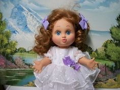 Galoob Baby Face Doll   Blue Eyed Laura Makeover by sassygranny, $80.00