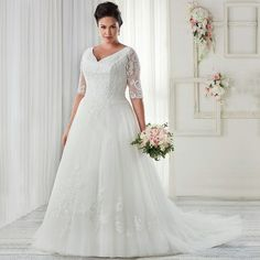 Graceful Gallery of Plus Size Wedding Dresses With Sleeves that You Must See https://fasbest.com/plus-size-wedding-dresses-with-sleeves/