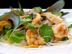 Thai seafood vermicelli salad