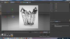 Cinema 4D Tutorial - Creating Crystals in Cinema 4D. In this tutorial i show you how you can create Crystals in Cinema 4D