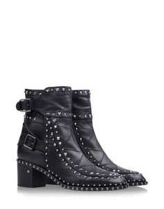 Laurence Dacade buckled ankle boots with stitching.