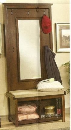 22 Best Entry Room Mirror Hall Tree Images Furniture
