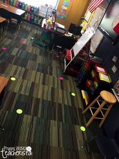 PeppyZestyTeacherista: Sit Spots Make the Classroom go Round