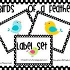 These cute little birds will help you organize your classroom supplies while decorating your room! You can also print these off and use them to te...