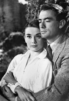 Audrey Hepburn and Gregory Peck-Roman Holiday