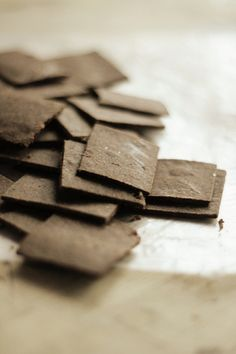 Cocoa Millet Crackers