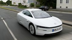 Volkswagen XL1, hybrid 262-mpg  50 are on the road only available in the EU