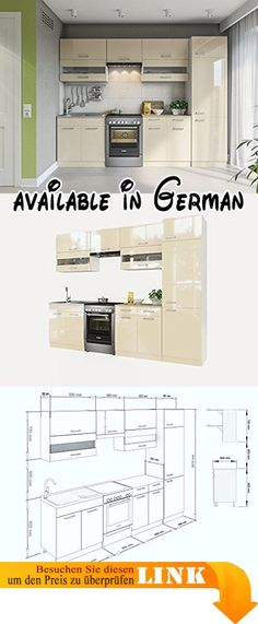 B01N0P8A1I  CHERYL Schrank Küchenschrank Unterschrank Möbel FSC