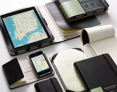 Moleskin iPad and iPhone covers