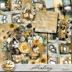 "Scrapbooking im Rollinest: ""HEALING"" by Feli Designs"