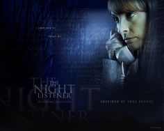 Watch Streaming HD The Night Listener, starring Robin Williams, Toni Collette, Rory Culkin, Joe Morton. In the midst of his crumbling relationship, a radio show host begins speaking to his biggest fan, a young boy, via the telephone. But when questions about the boy's identity come up, the host's life is thrown into chaos. #Crime #Mystery #Thriller http://play.theatrr.com/play.php?movie=0448075