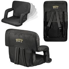 Pittsburgh Panthers Stadium Seat / Beach Chair - Ventura By Picnic Time