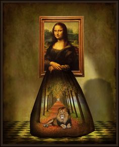 Mona and the Lion...by The Whimsey Asylum