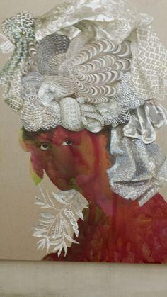Painting by Fidelei Baez