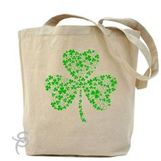 Family Of Shamrocks Cloverleaf Tote Bag