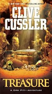 Treasure (Dirk Pitt Adventures (Paperback)) by Clive Cussler - Pocket Books Great Books, New Books, Books To Read, Clive Cussler Books, Raise The Titanic, Adventure Novels, Pocket Books, Thriller Books, Page Turner