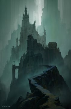 ArtStation - The Dark Citadel, Andreas Rocha