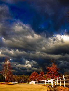 Autumn storm (via naturesdoorways)