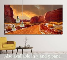 We use museum quality canvases to achieve archival grade wall art for your home. This gallery wrapped canvas is stretched on durable pinewood framework with
