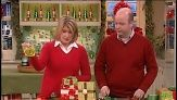 Ribbon expert Steven Fraser of Masterstroke Canada teaches Martha Stewart how to make beautiful roses out of ribbon. They're perfect as holiday present toppers.