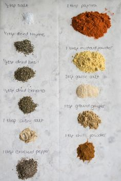 Homemade KFC seasoning                                                                                                                                                     More                                                                                                                                                                                 More