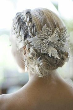 Petty hair for wedding